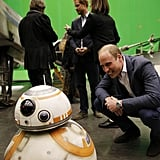 When William Mingled With BB-8