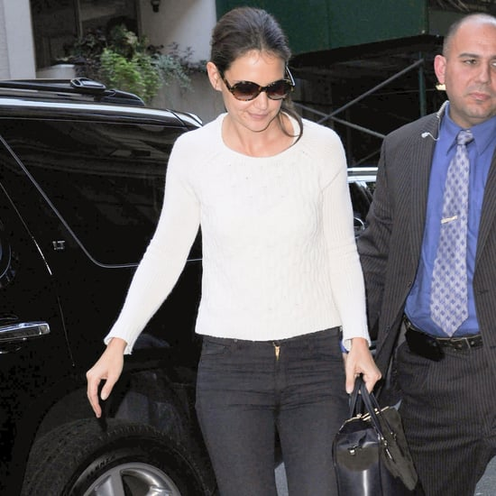 Katie Holmes After Holmes & Yang Show | Pictures