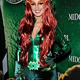 Shenae Grimes dressed as Poison Ivy from Batman at the Midori Green 2013 Halloween party in LA. Related28 Last-Minute DIY Halloween Costumes