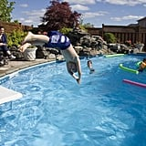 At the Pool: Diving Games