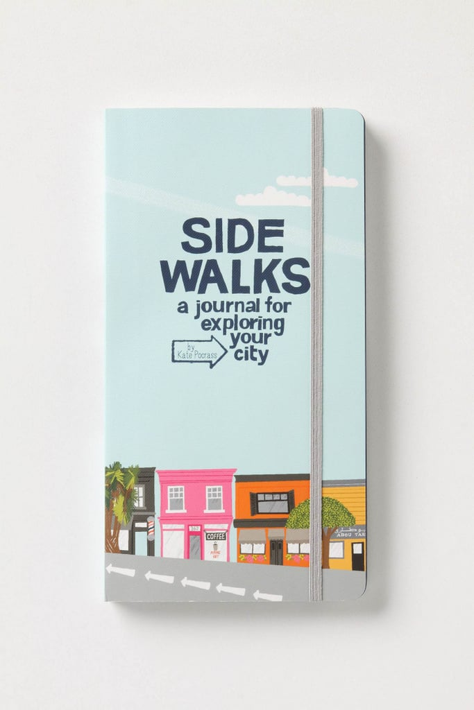 Encourage your grad to explore her new surroundings (wherever they may be) with a journal to recount all of her new experiences.
