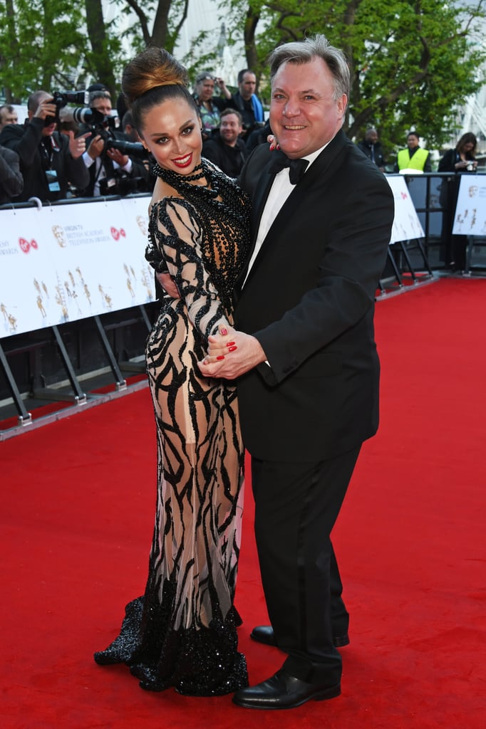 Katya Jones and Ed Balls