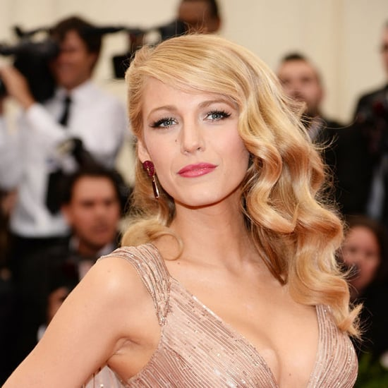 Pictures of Blake Lively Hair and Makeup 2014 Met Gala