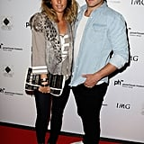 Pip Edwards and Adam Ashley-Cooper at RAFW in 2010