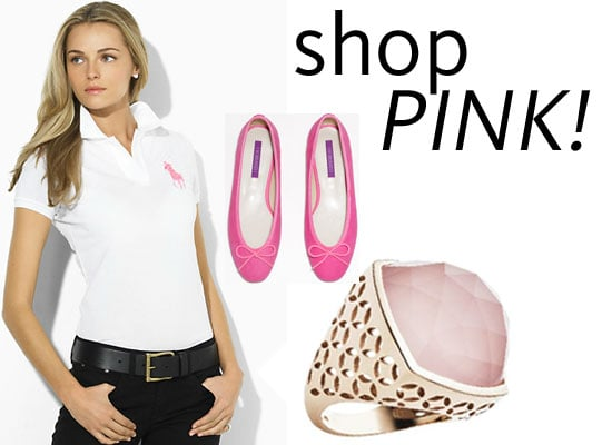 Shop Pink for Breast Cancer Awareness Month in October: Top Ten Pink Ribbon Fashion Buys Online