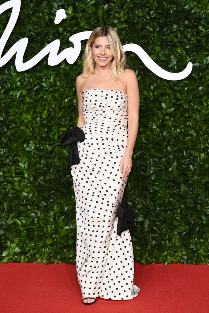 Mollie King at the British Fashion Awards 2019