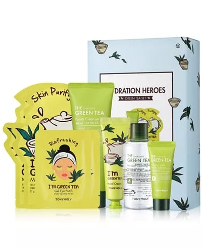 Tonymoly 8-Piece Hydration Heroes Green Tea Set