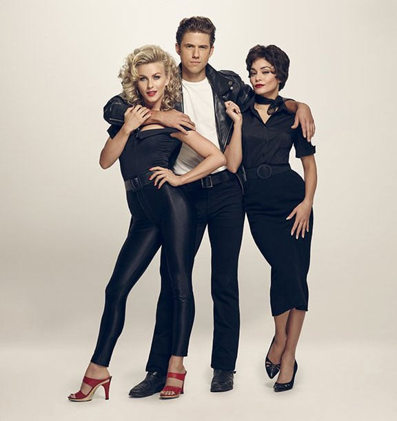 sandy danny and rizzo from grease