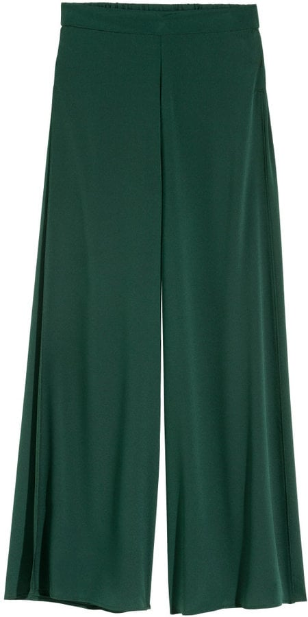 H&M Wide-Leg Pants With Slits ($30)