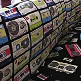 Boom Box and Cassette Crib Bedding