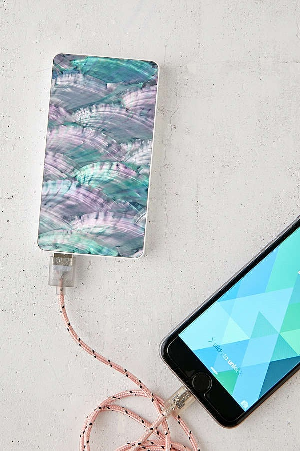 Recover Natural Shell Portable Power Charger