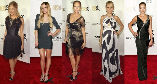 Fashionable Girls Rock The Red Carpet
