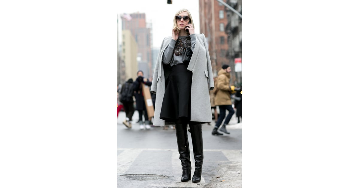 Nyfw Street Style Day 4 Best Street Style At New York Fashion Week Fall 2014 Popsugar