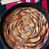 Brown Sugar Cinnamon Apple Skillet Cake