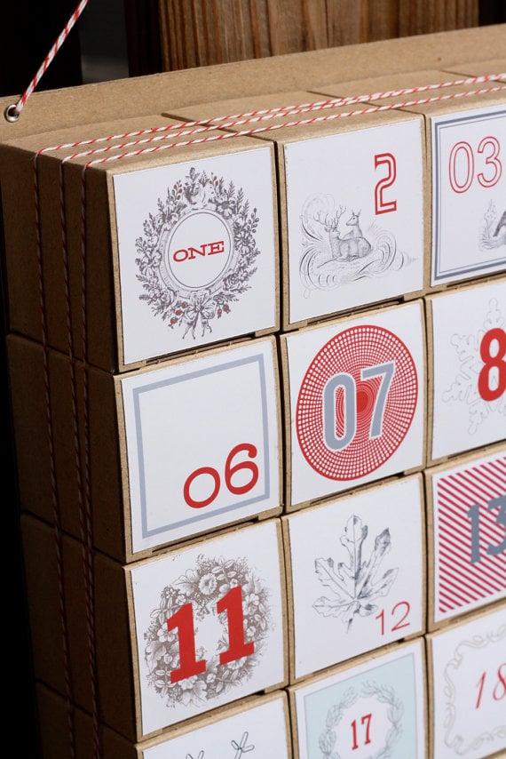 Buy: Vintage Modern Mix Advent Calendar