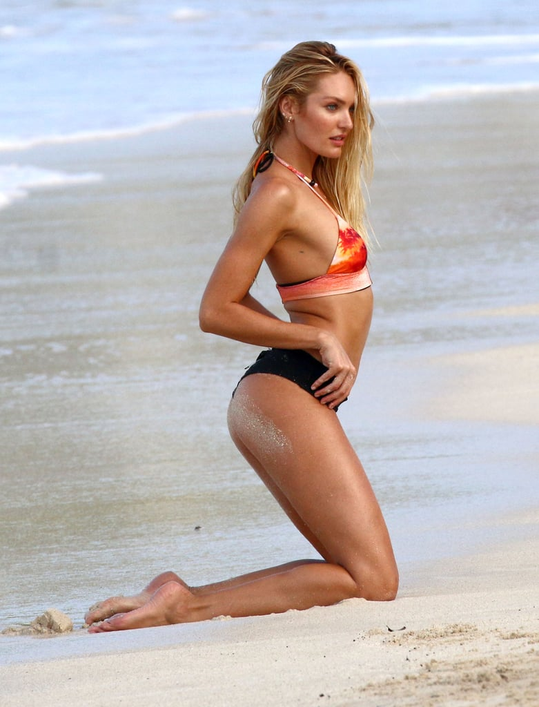 Candice Swanepoel Bikini Pictures in St. Barts December 2015