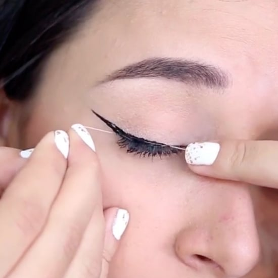 String Wing Eyeliner Technique