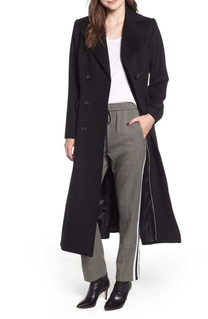 013e213413f2 Kristen Blake Double Breasted Long Wool Coat | Best Gifts by Zodiac ...