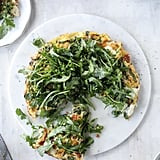 Spring Veggie Frittata with Queso Cheese and Rocket