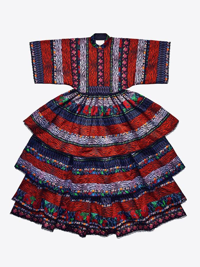 Patterned Maxi Dress ($549)