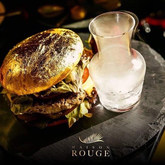 24-Carat Gold Burger Maison Rouge Dubai