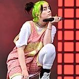 Billie Eilish at the 2019 ACL Music Festival