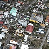 An aerial view of Hurricane Irma's destruction on the island Sint Maarten on Sept. 6.