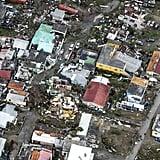 An aerial view of Hurricane Irma's destruction on the island Sint Maarten on Sept. 6.