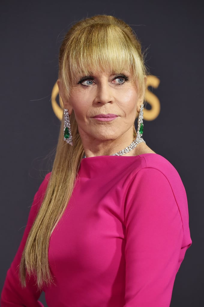 Jane Fonda Celebrity Hair And Makeup At The Emmy Awards 2017