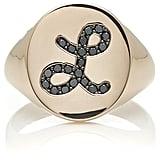 Sydney Evan Initial Signet Ring