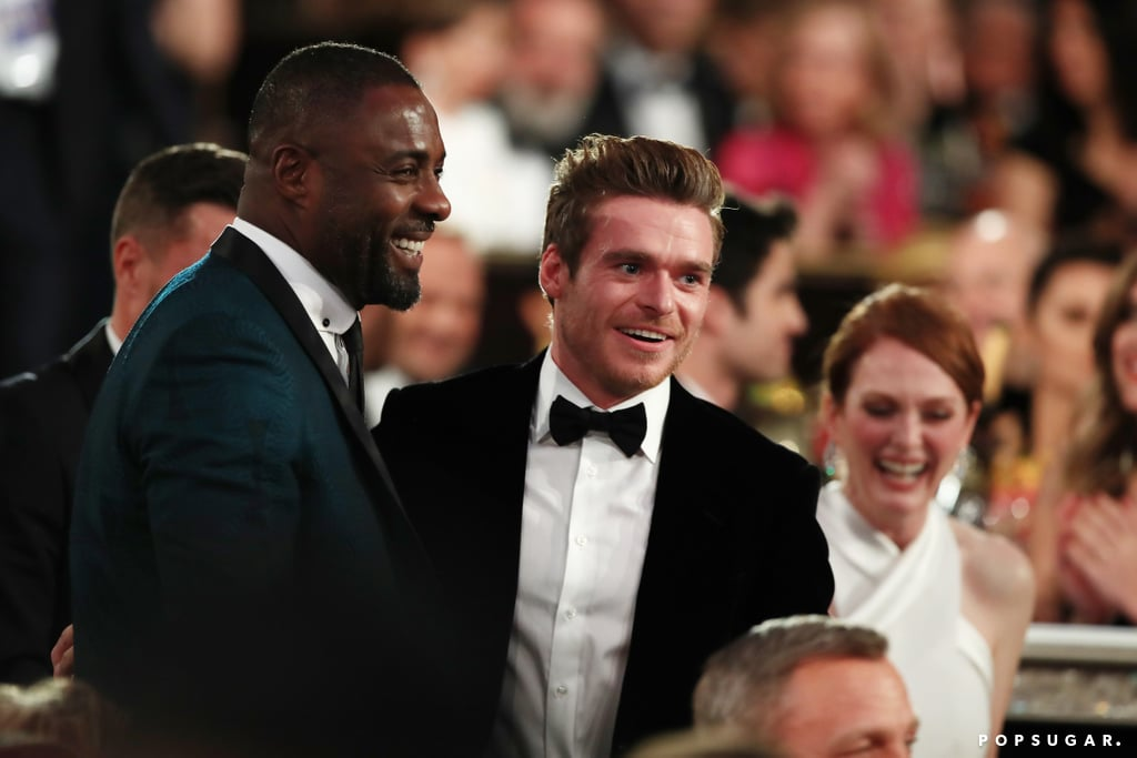 Pictured: Idris Elba and Richard Madden