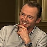 "Simon Pegg Talks Secrets and Why Humor Is ""Vitally Important"" in Star Trek Into Darkness"