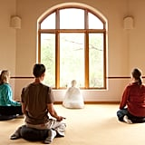 If you're feeling super relaxed — or need to de-stress — drop into one of the Ranch's meditation rooms or take a guided meditation class.