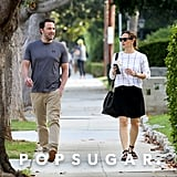 Sept. 22, 2016: The two share a laugh while walking to their car in LA.