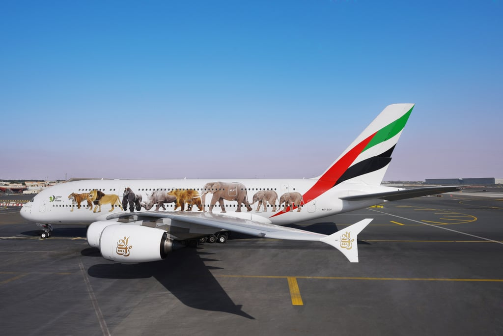 United for Wildlife A380