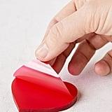 Transparent Heart Sticky Notepad