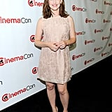 Jennifer Garner stepped out for the first time after giving birth to her son at the CinemaCon event in Las Vegas.