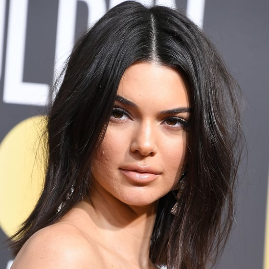 Kendall Jenner's Acne at the Golden Globes 2018