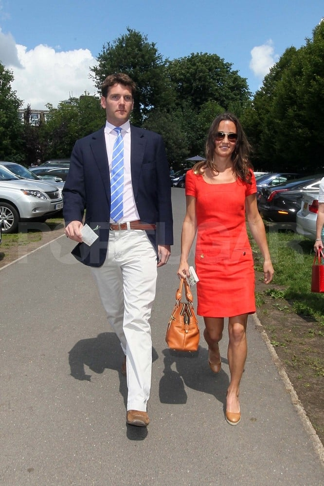 Pippa Middleton Brings Boyfriend Alex Loudon For a Day at Wimbledon
