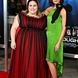Chrissy Metz Red Dress Black Heels at Breakthrough Premiere