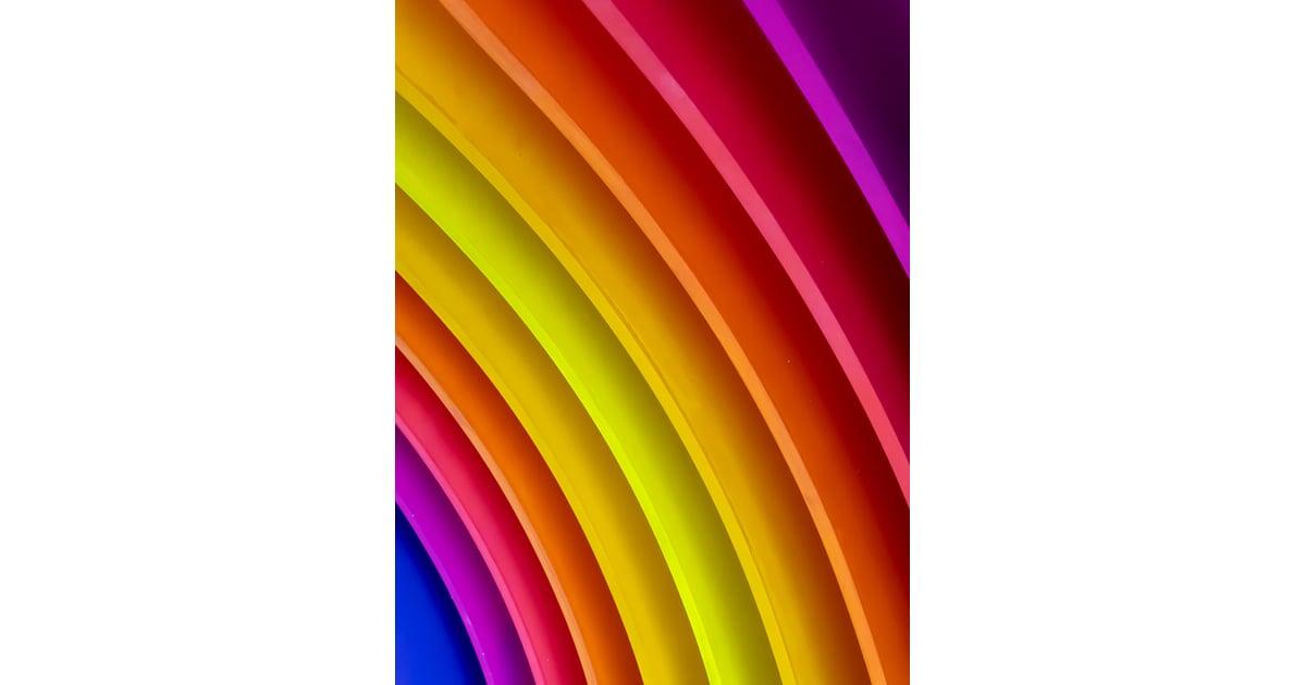 Neon Rainbow iPhone Wallpaper   Best iOS 14 Wallpaper ...