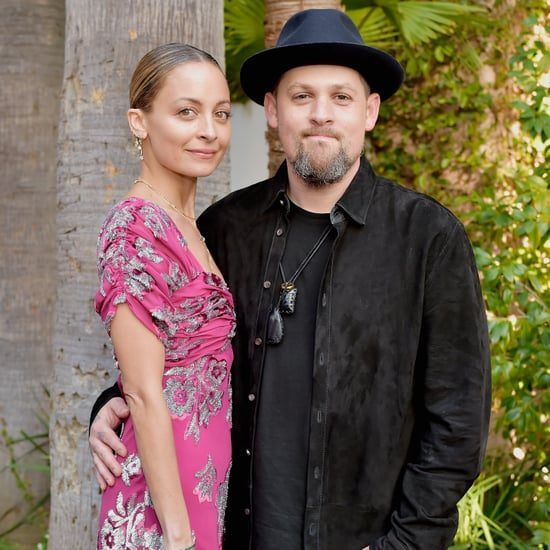 Nicole Richie and Joel Madden at 2018 Daily Front Row Awards