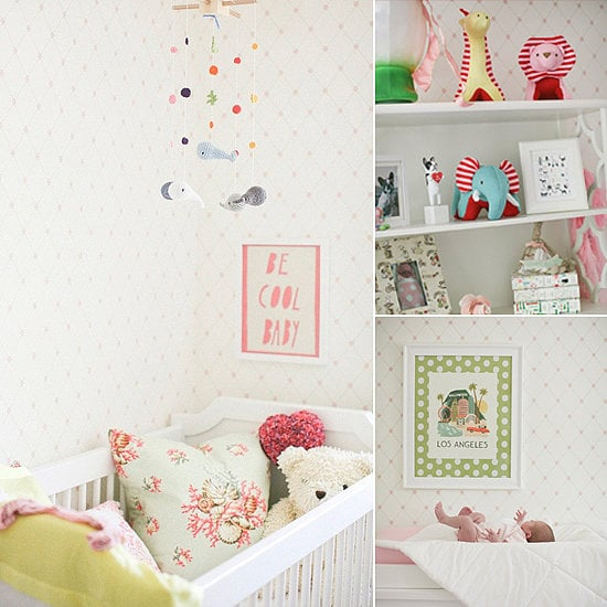 girls rooms and nurseries pictures popsugar moms. Black Bedroom Furniture Sets. Home Design Ideas