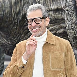 Jeff Goldblum Jurassic World: Fallen Kingdom Press Tour