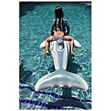 "Over the Fourth of July weekend in 2015, their daughter soaked up some sun in the pool, and Sarah Michelle said, ""Sometimes you just need to ride a #dolphin."""