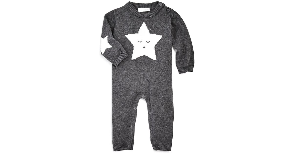 39100fa89 Elegant Baby Unisex Star Knit Coverall | Gender-Neutral Baby Clothes |  POPSUGAR Family Photo 9