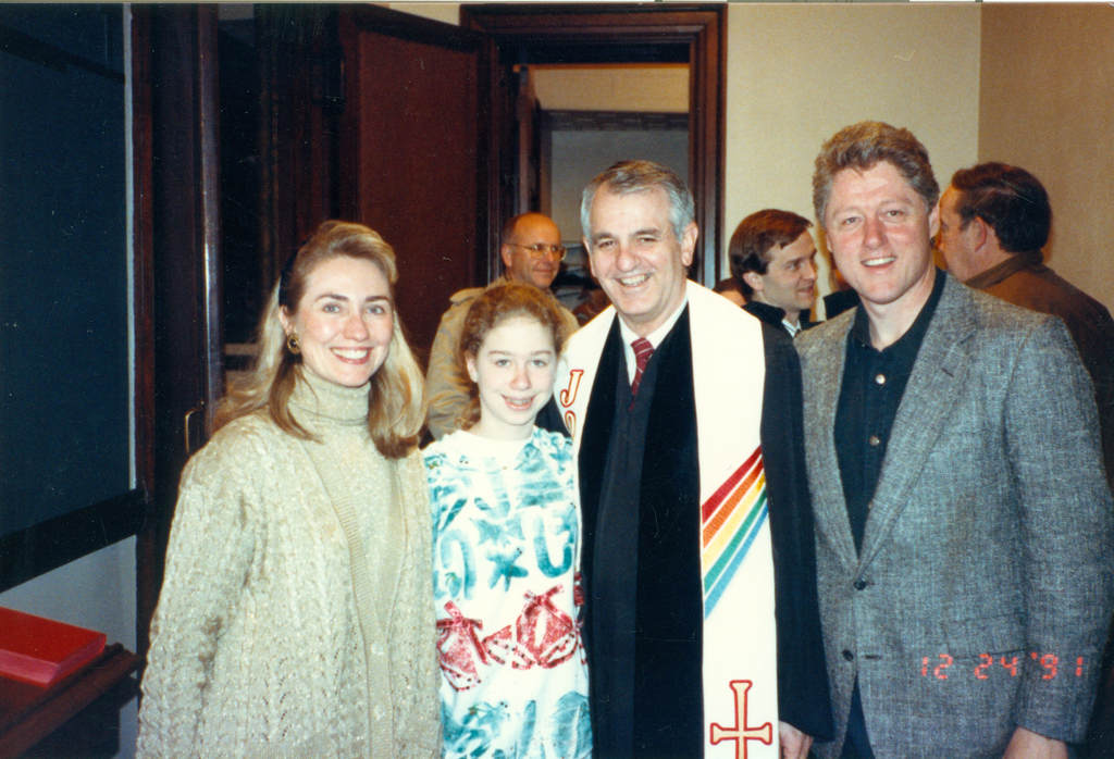 "#TBT to Christmas Eve with my family — this is at First United Methodist in Little Rock where my mom and I went to church. One phrase my mom lives by is from Methodist founder John Wesley: ""Do all the good you can. By all the means you can. In all the ways you can. In all the places you can. At all the times you can. To all the people you can. As long as ever you can."""