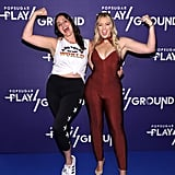 Pictured: Candice Huffine and Iskra Lawrence