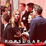 Feb. 28, 2016: They meet up at Vanity Fair's Oscars afterparty, but are spotted leaving separately.