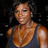 Serena Williams at New York Fashion Week in 2007
